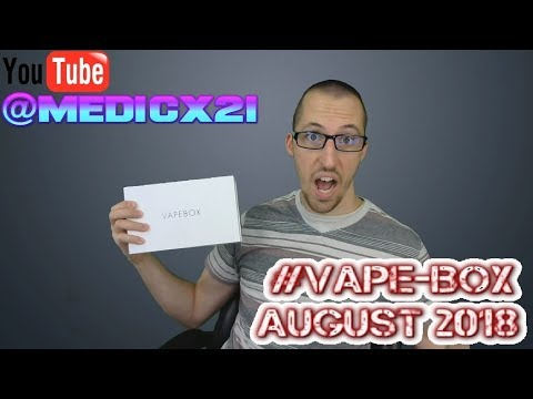 Download #VapeBox Unboxing August 2018, hint... it's an RTA!
