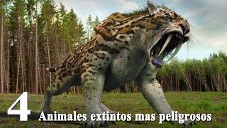 ANIMALES Extintos mas PELIGROSOS y letales que Existieron