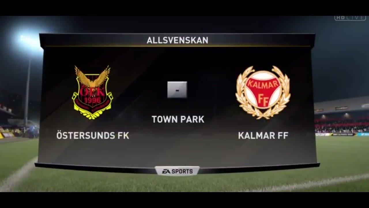 Fifa 20 Ostersunds Fk Vs Kalmar Ff Swedish Allsvenskan Youtube