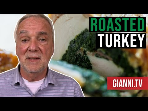 Roasted Turkey Breast with Spinach and Prosciutto Stuffing, Italian Recipe – Gianni's North Beach
