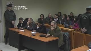 Lectura de sentencia juicio oral Mauricio Ortega. TOP de Coyhaique. 2 de mayo 2017