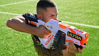 Nerf Ultra War x Football 🔥