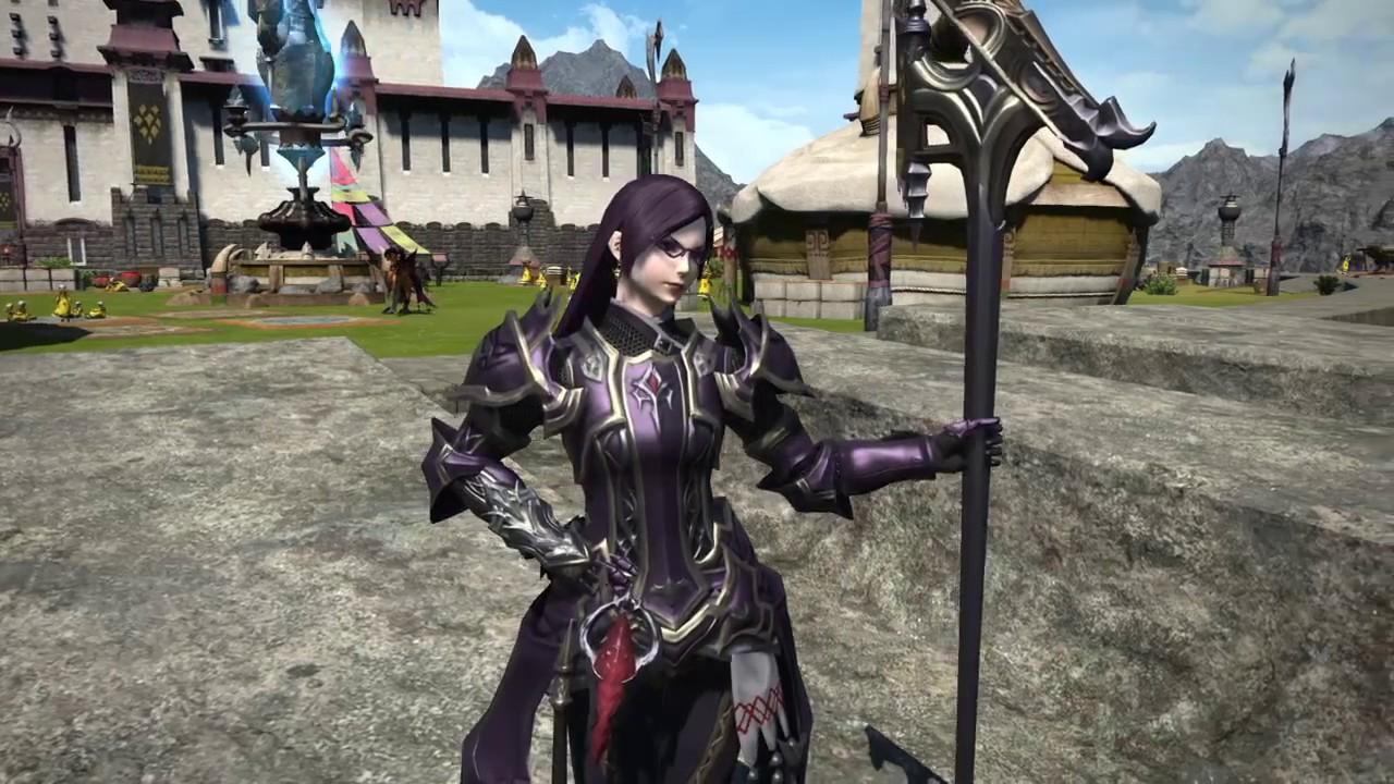 FFXIV Stormblood: Chromite Set of Maiming - i320 Crafted Dragoon Set