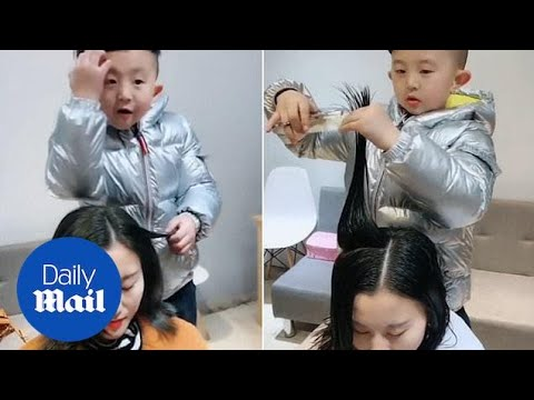 Lisa St. Regis - Watch This 6 Year Old Hair Stylist in Action