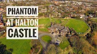 Halton castle views by drone Runcorn Widnes