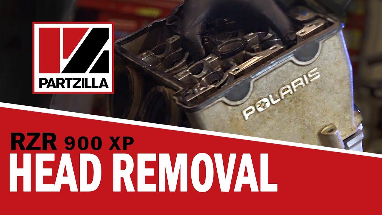 Polaris Ranger Xp 900 >> Polaris RZR Cylinder Head Removal | Partzilla.com - YouTube