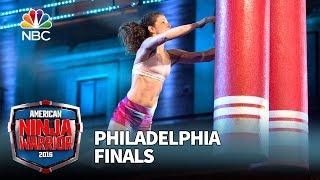 Michelle Warnky at the Philadelphia Finals - American Ninja Warrior 2016