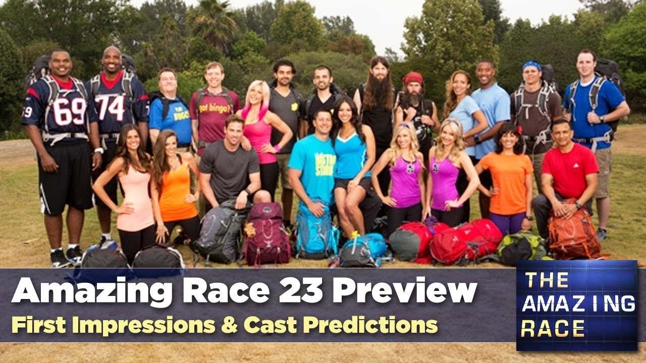 Amazing Race 23 Season Preview and Cast Assessment