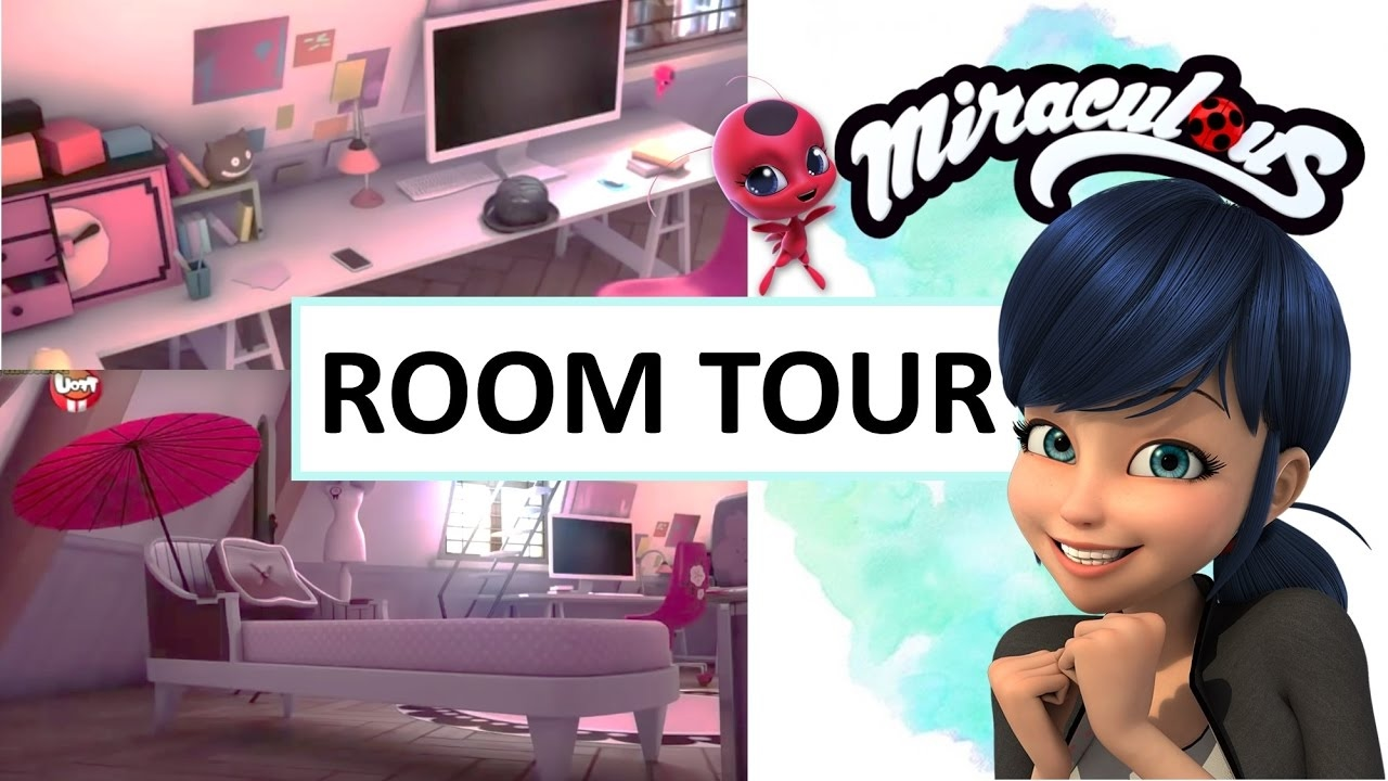Marinette S Room Tour Miraculous Ladybug Hd 2017 Youtube