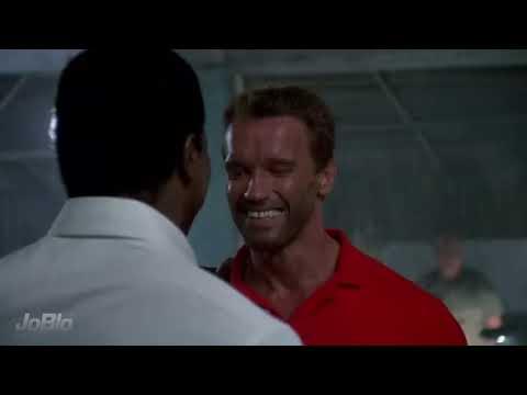 PREDATOR Movie   You Son Of A Bitch 1987 Arnold Schwarzenegger SciFi Action Movie HD