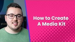 What Is a Media Kit? (And How to Create One)