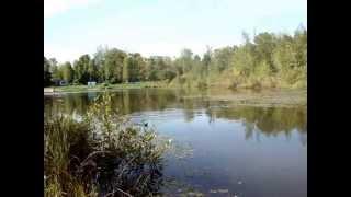 Рыбалка на Черном озере.