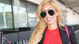Farrah Abraham Comes Out For Trump At LAX