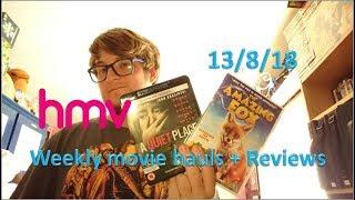 0002 - new HMV weekly movie haul & Reviews 13/8/18