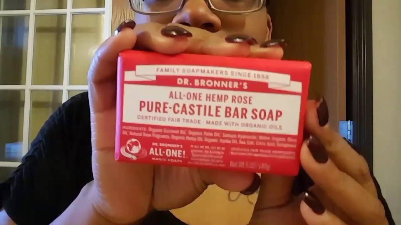 Dr  Bronner's Castile Bar Soap Review