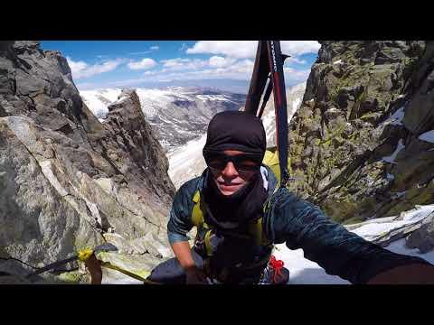 Ski Mountaineering on Temple Crag
