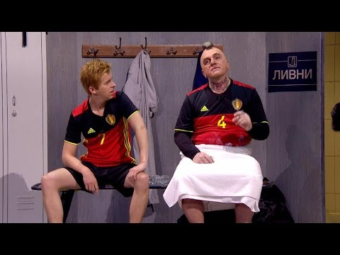 Een exclusieve blik in de kleedkamer van de Rode Duivels! | Tegen De Sterren Op | VTM