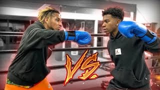 DDG vs. Deshae Part 2??? + Sparring vs. Undefeated Boxer