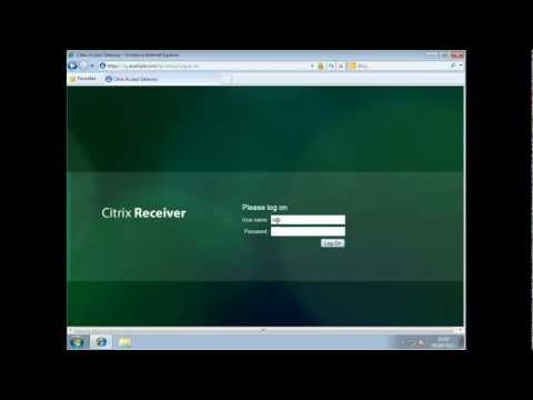 Citrix : Access Gateway and multiple web resources