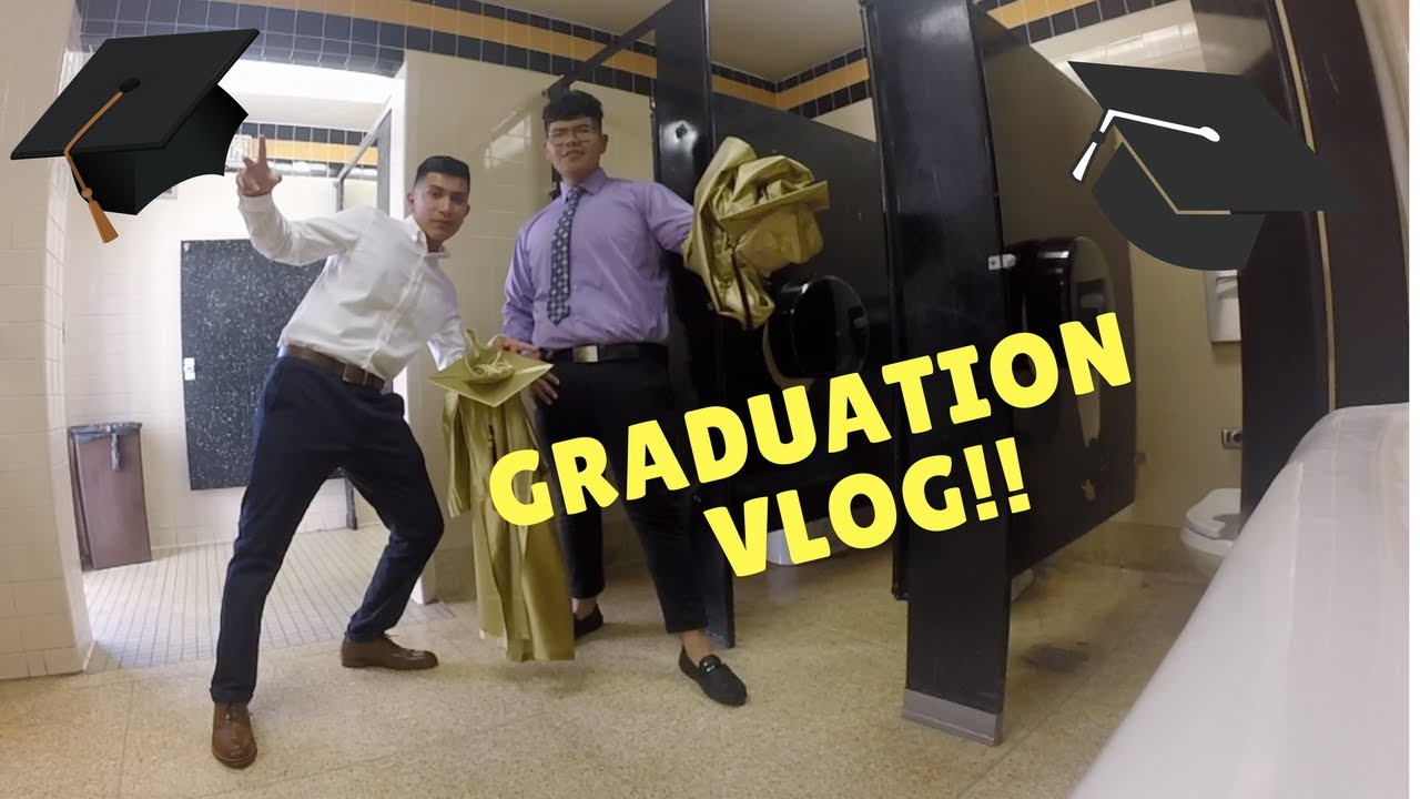 Graduation Vlog Foothill High School 2017 Had To Sneak In The