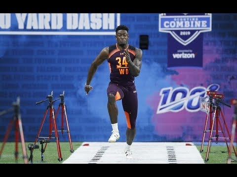 Tracking DK Metcalf's jaw-dropping NFL combine performance