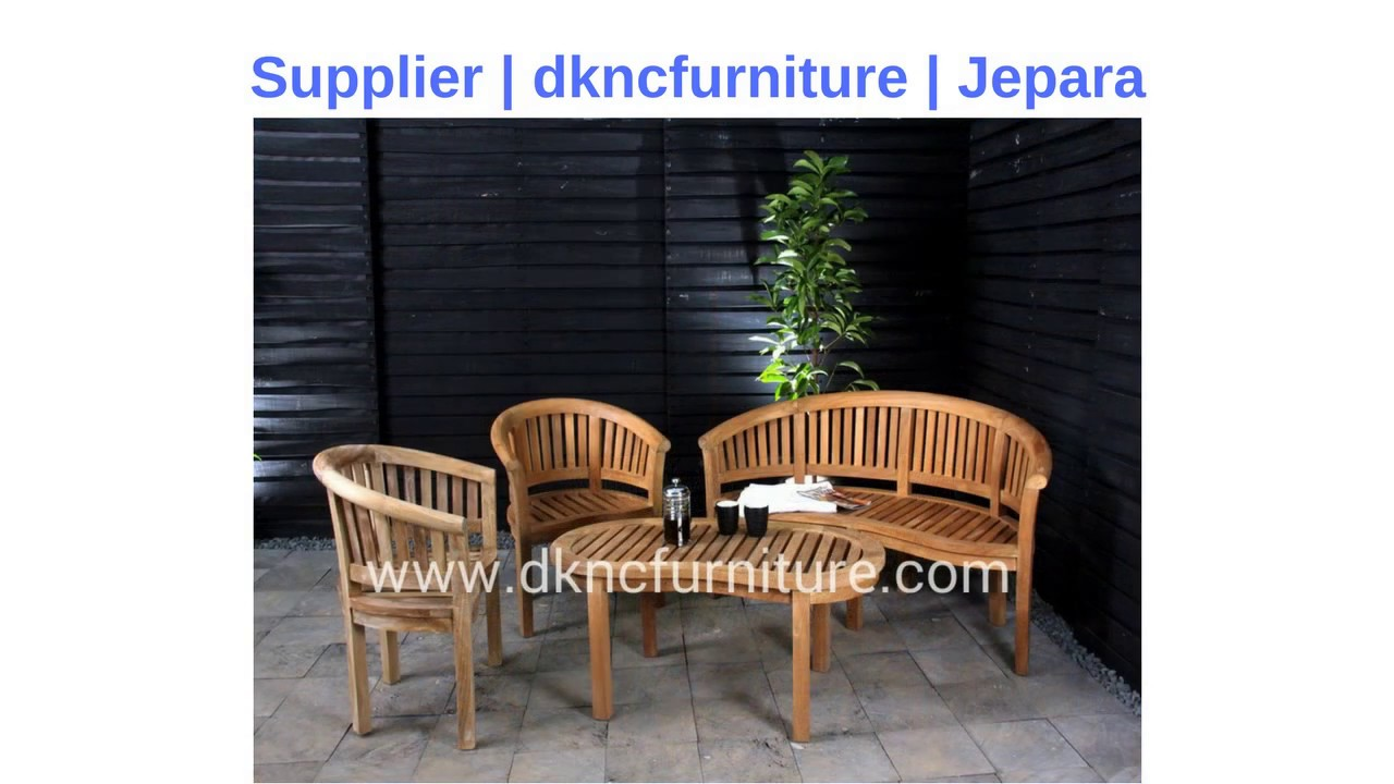 Supplier in jepara price teak garden furniture indonesia dknc