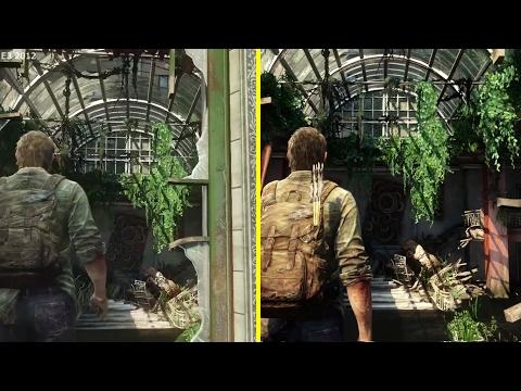The Last Of Us E3 2012 Demo Vs Retail PS4 Graphics Comparison