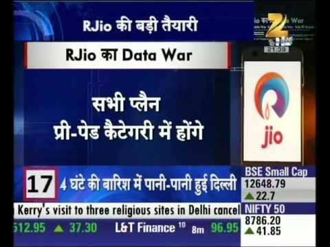 Reliance Jio to enter telecom world with a big bang offers on internet and calling