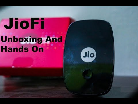 JioFi 2 Router Unboxing And Overview | Setup