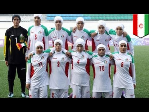 Iran's women soccer: men playing as women in sex and gender sports controversy - TomoNews