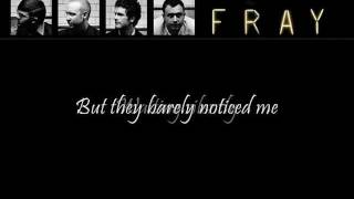 The Fray- I Can Barely Say (Lyrics!)