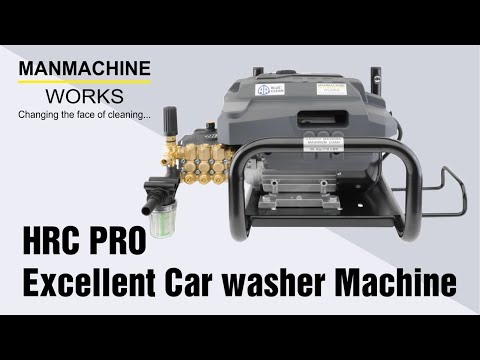 HRC PRO - Excellent Car Washer Machine | Car Wash  Pump | Manmachine Works