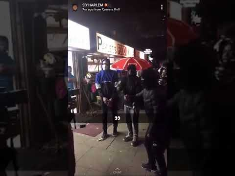 (Harlem Spartans) OnDrills Loski X Scratcha X SD - Video Shoot Pending🤷🏽♂️🤧 #Harlem Spartans