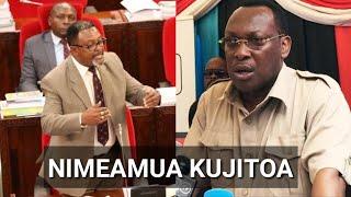 Mbunge wa Rombo Joseph Selasini AJIUZULU muda huu,ni Pigo chadema.