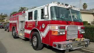Milpitas Fire Apparatus on scene