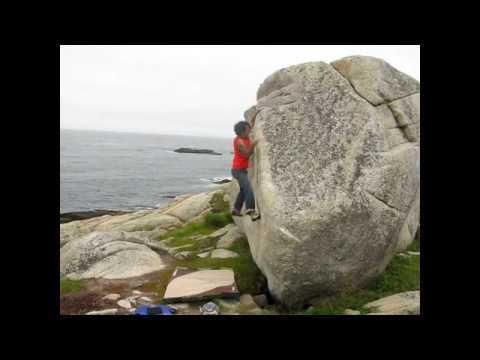 Halifax Bouldering at Chebucto Head