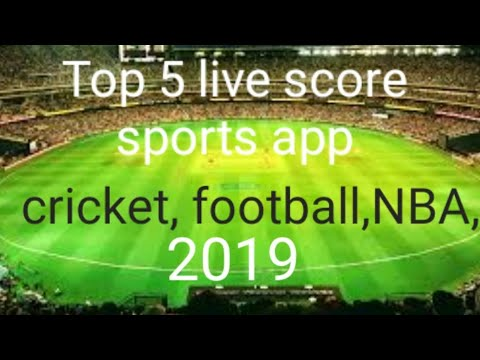 Top 5 Live Score Sports App In India || Cricket, Football, NBA, Bollywood, Best Live App