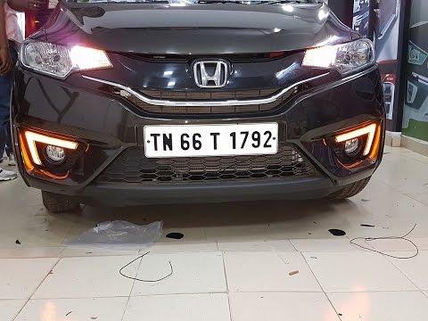 New Honda Jazz Front Fog Lamp Drl Light Jazz Exterior