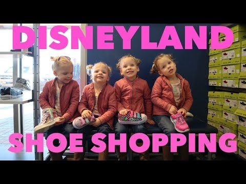 SHOPPING FOR SHOES FOR DISNEYLAND!