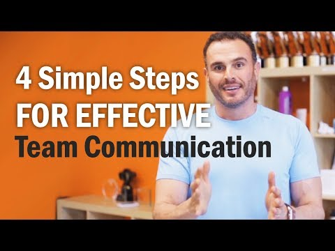 4 Simple Steps For Effective Team Communication