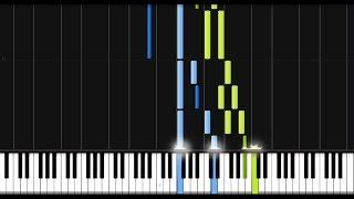 Beethoven: Piano Sonata No. 1 in F Minor - 2nd Movement [Piano Tutorial] (Synthesia)