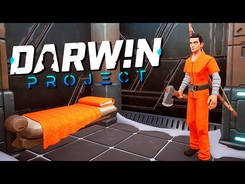 The CRAZIEST SURVIVAL GAME EVER! - Darwin Gameplay Project - New Battle Royale game
