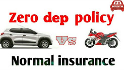 zero depreciation  insurance policy for two wheelers and four wheeler