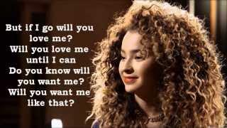 Ella Eyre - If I Go Lyrics (Live Version)