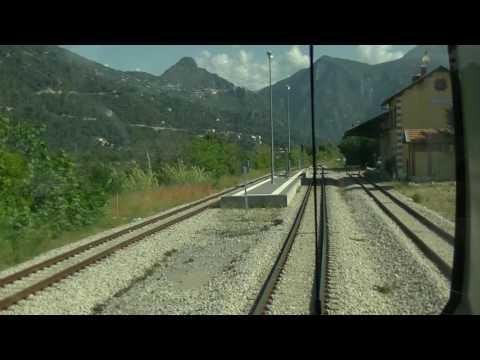train trajet de Colomars la Manda à Puget-Théniers