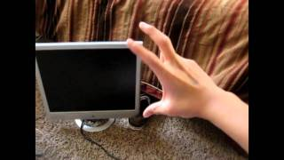 magnavox lcd 19 inch flat screen tv unboxing pt 2
