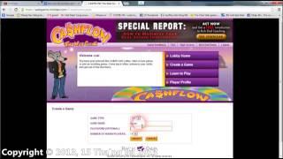 BoardGame EGame Cashflow (Chơi Online)