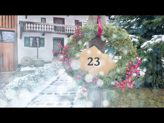 23 | Schlierseer Adventskalender 2020 | Kuramtsleiter Türchen