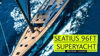Tour the 96ft carbon superyacht Seatius from Southern Wind | Y…