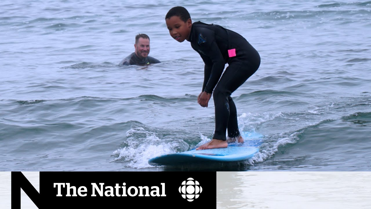 Push to get more Black surfers riding the waves in Nova Scotia